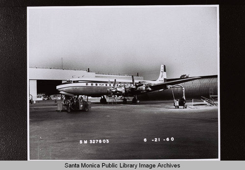 KLM Flying Dutchman at the Santa Monica Municipal Airport on June 21, 1960