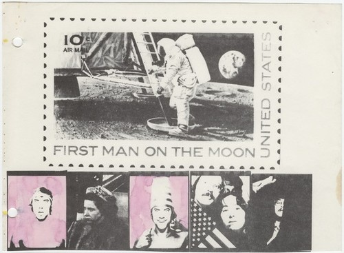 First Man on the Moon (from Ant Farm Prospectus)