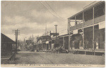 Street scene, looking south, Dunsmuir, Cal.