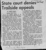 State court denies Trailside appeals