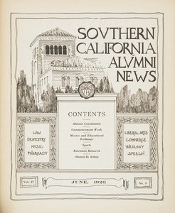Southern California alumni news, vol. 4, no. 5 (1923 June)