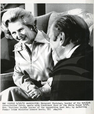 Ford and Margaret Thatcher
