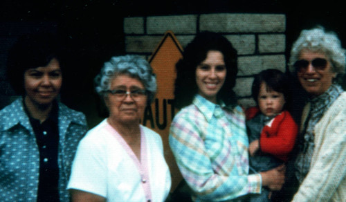 Nettie McKinnon , Joleen Smith, and family (also slide)