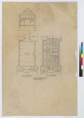 Elevation and Second Story Plans