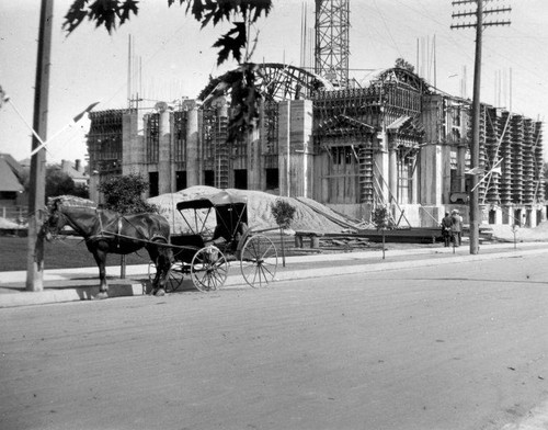 Construction of the Christian Science Church