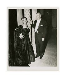 Mary Dockweiler and William K. Young at Assembly Ball, circa 1952
