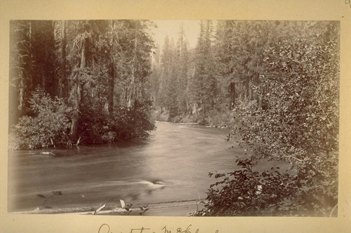 On the McCloud. 1883