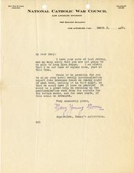 Mary Young Moore letter to Mary J. Workman, Mar 2, 1920