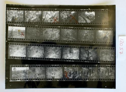 Overseas Weekly Contact Sheet 12057
