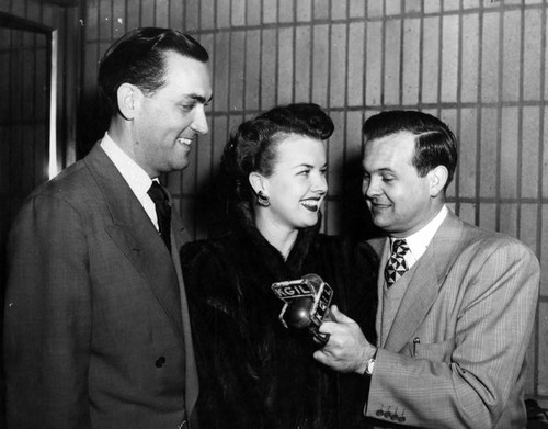 Gale Storm and husband
