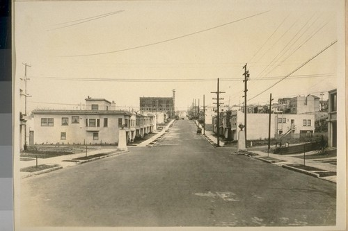 North on 43rd Ave. from Cabrillo St. May 1927