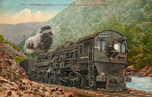Southern Pacific Locomotive