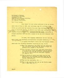 Letter from Isidore B. Dockweiler to George E. Farrand, 1943