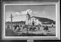 Painting of Santa Clara Mission