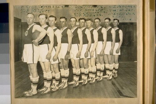 [San Francisco Police Department Basketball Team]