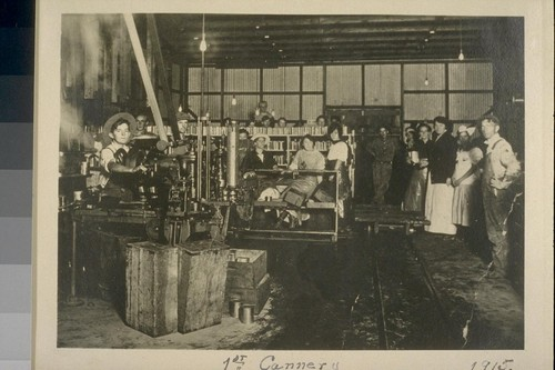 1st. Cannery, 1915