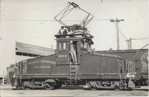 Freight motor 1004 of the P&SR Railroad