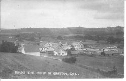 Bird's eye view of Graton, California
