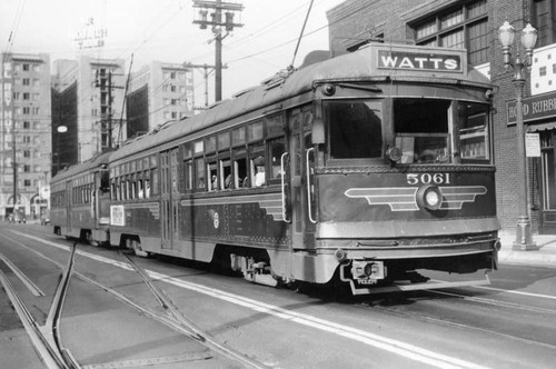 Watts Pacific Electric car