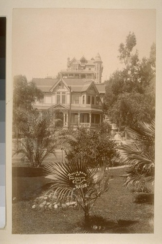 Residence of Fergeson and Crocker, no. 123 [Bunker Hill, Los Angeles]