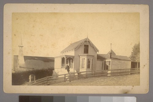 Rectory and Church of the Ascension, Vallejo, Calif. [Photograph by Charles H. Carlson.]