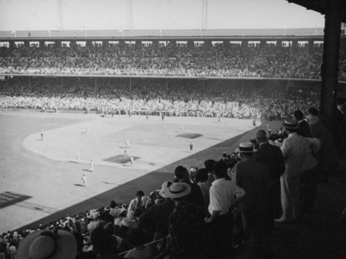 Game at Wrigley Field, Los Angeles