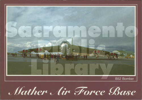 B-52G Bomber, Mather Air Force Base