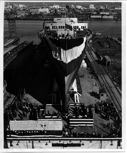 PRESIDENT WILSON (Second) christening 11/24/46