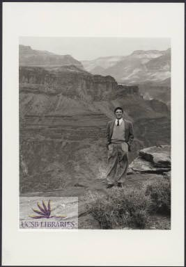 BH at Grand Canyon, 1940