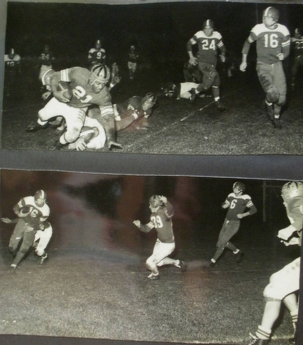 Analy High School football, fall, 1951--Analy Tigers vs Vallejo Apaches on Friday October 26th, 1951