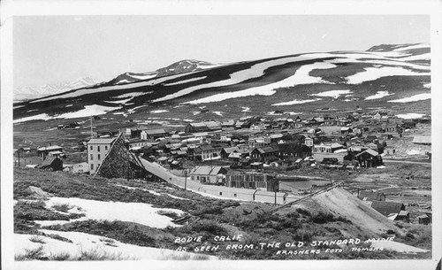 Bodie, Calif, as seen from the Old Standard Mine