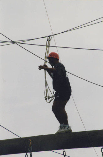 Colleges and schools-College of Health and Human Services-Experimentally Designed Group Effort EDGE ropes course 014