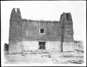 Old church at the Acoma Pueblo, New Mexico, ca.1900