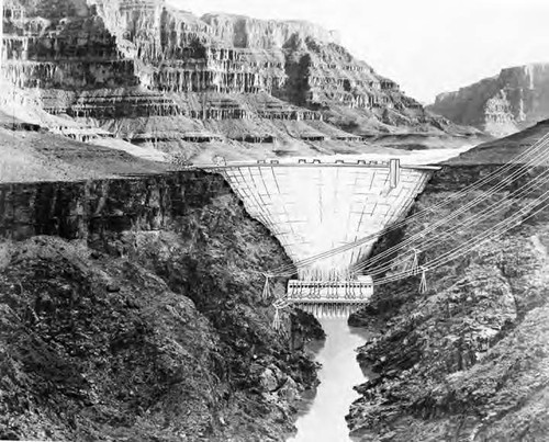 Bridge Canyon dam site