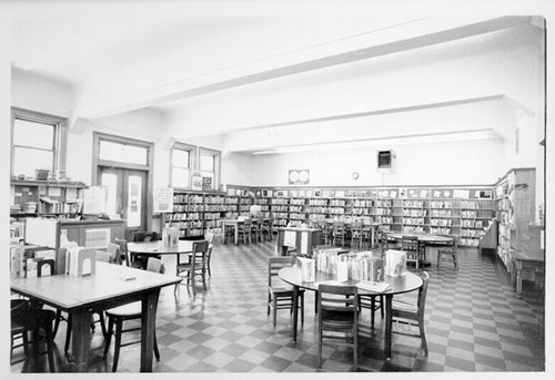 [Interior of Mission Branch Library]