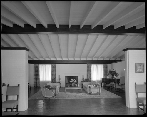 Browne, Francis E., residence. Living room