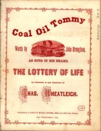 Coal oil Tommy / written by John Brougham ; music by Alfred Lee