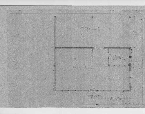 Calisphere architectural drawings of the santa rosa monument architectural drawings of the santa rosa monument company located on fifth street santa rosa malvernweather Choice Image