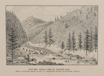 Rich bar, Middle Fork of Feather River, from a painting made in 1851, in possession of Mr. F. B. Whiting, Quincy