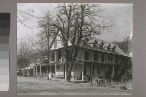 [Washington Hotel.] Washington [Nevada County, Calif.] 1954
