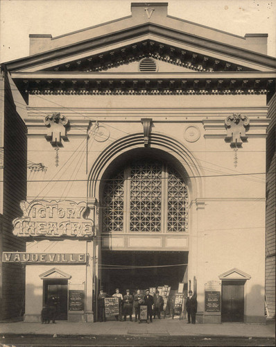 [Photograph of the Victory Theatre]