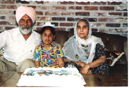 Hari Singh Everest and Amar Kaur with Boy