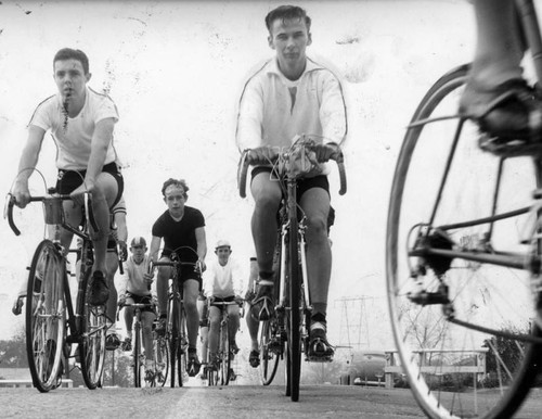 Bike club trains for 1956 Olympics