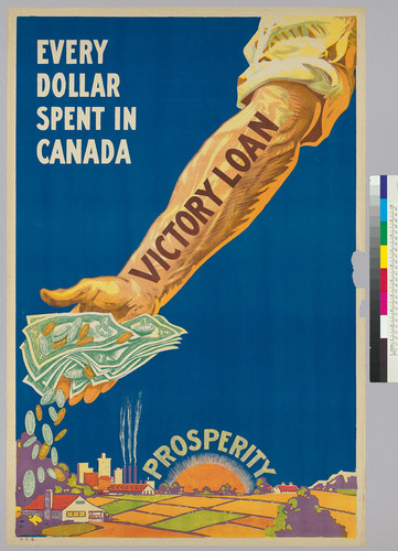 Every dollar spent in Canada: Victory Loan: prosperity