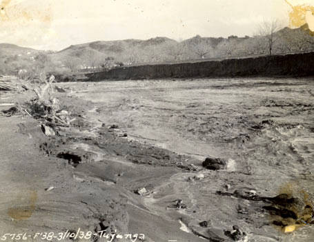 Tujunga Wash - Flood of 1938