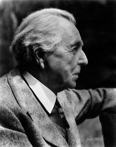 Calisphere Frank Lloyd Wright A Profile