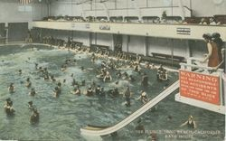 The Plunge, Long Beach, California, Bath House