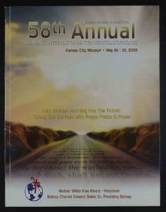 Annual Women's International Convention/Crusade, COGIC (58th: 2008), v.2