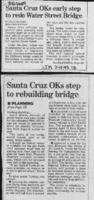 Santa Cruz OK's early step to redo Water Street Bridge