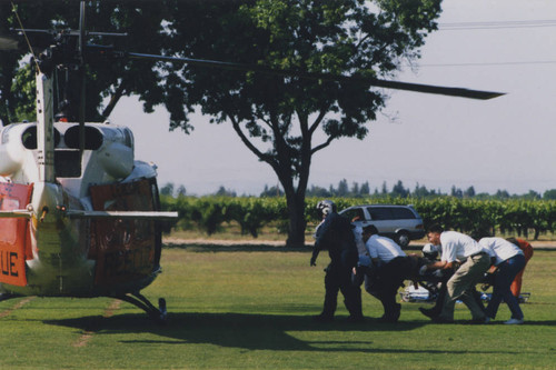 Campus activities and events-New campus-Emergency helicopter drill 009
